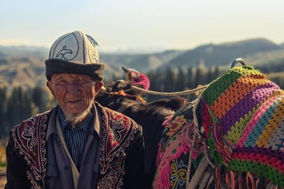 Казахский старец