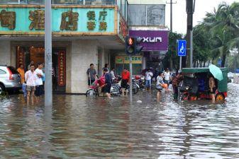 После тайфуна