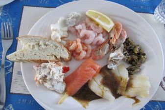 Гренландия фото– рыбное блюдо