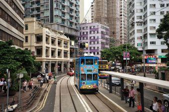 Гонконг фото – гонконгский трамвай