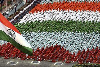 Индия фото– парад в честь Дня Независимости