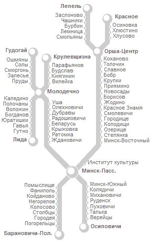Рядом с железнодорожным