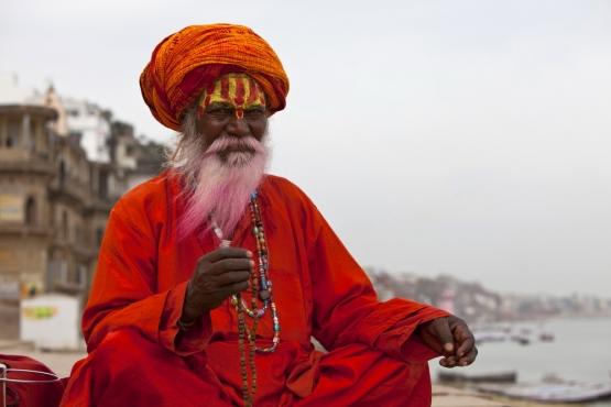Отшельники садху– любимые персонажи фотографов, ищущих экзотики
