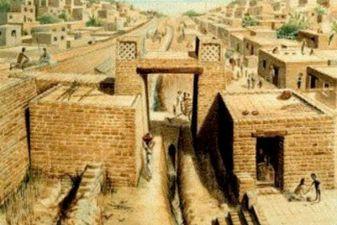 Индия фото– Мохенджо-Даро (реконструкция)