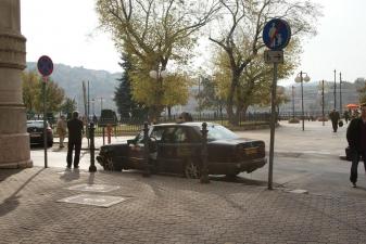 Такси в ожидании пассажиров