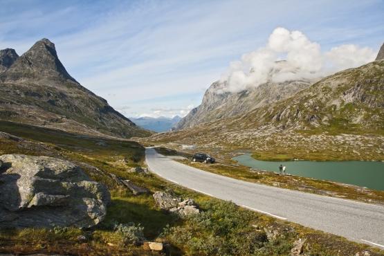 Дорога в Норвегии