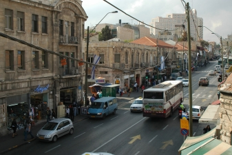Городское движение в Иерусалиме