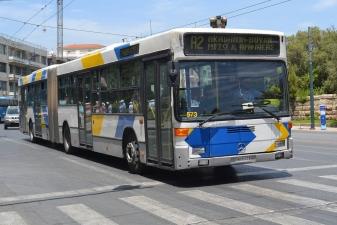 Автобусы в Греции