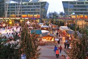 Рожденственская ярмарка в Мюнхене