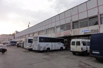 Автовокзал в Грузии
