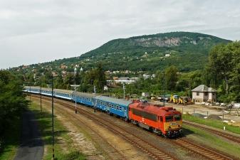 Поезд в сторону Балатона