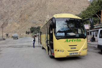 Автобус в дороге