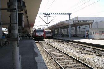Салоники фото– железнодорожный вокзал