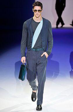 Мужской костюм от Армани