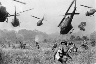 Вьетнам фото– Высадка военного контингента США во Вьетнаме