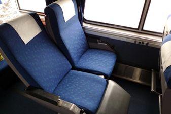 Простой плацкарт в поездах США