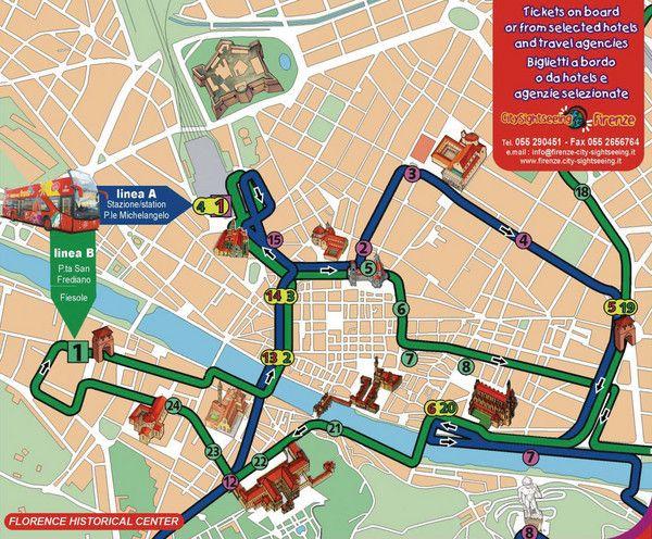 Посмотреть схемы движения туристических автобусных маршрутов.