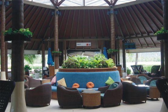 Тайланд фото – Зал ожидания аэропорта Самуи