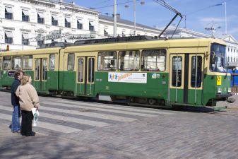 Финляндия фото – Туристический трамвай № 3В в Хельсинки