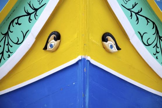 Глаза Гора на носу мальтийской рыбацкой лодки луццу– веяние арабской культуры