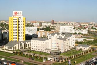 Вид на посольство России