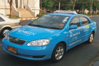 Тайланд фото – Такси в Бангкоке