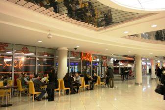 Кафе в торговом центре Столица
