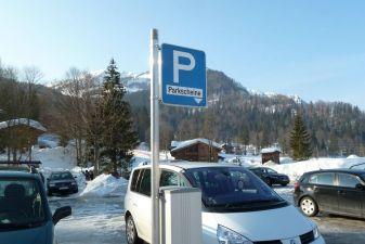 Парковка в Австрии
