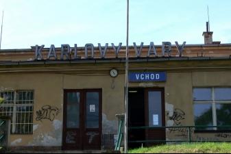 Вокзал в Карловых Варах