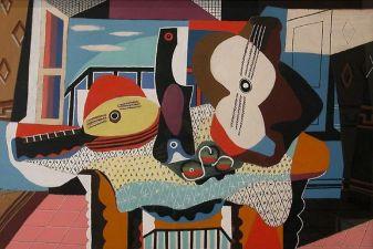 Пикассо – «Мандолина и гитара»