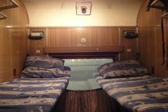 Спальные места в поезде