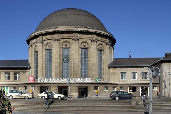 вокзал Кёльн-Мессе/Дойц