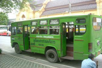 Тайланд фото – Городской автобус