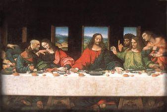 Тайное Вечерие– Леонардо да Винчи