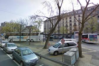 Автовокзал в Женеве