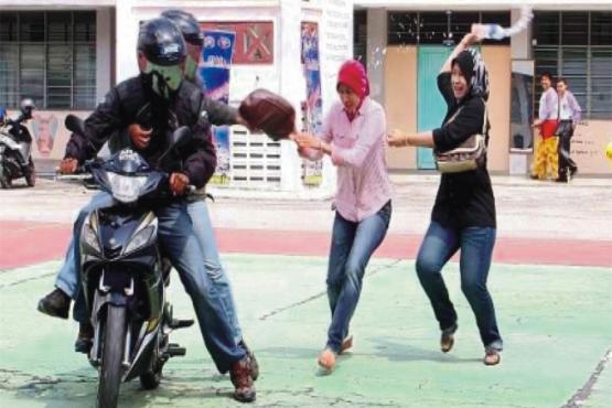 Ограбление в Куала-Лумпуре