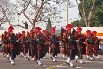 Индия фото– военный парад в честь Дня Республики