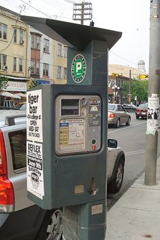 Паркомат в Италии