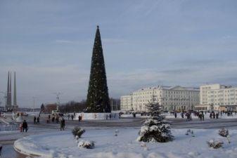 Зима в Могилеве