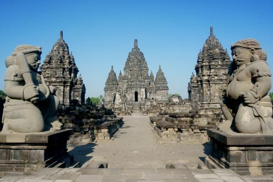 Севу– один из крупнейших буддистских храмов на Яве