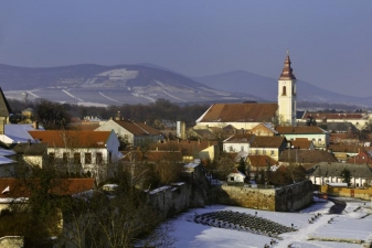 Зима в Венгрии