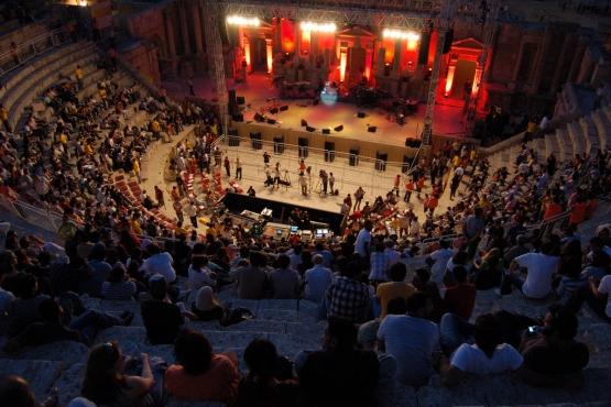 Представление в римском амфитеатре в окрестностях Аммана