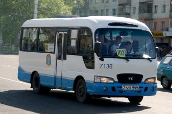 Маршрутка в Казахстане
