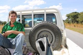 Автостоп в Замбии