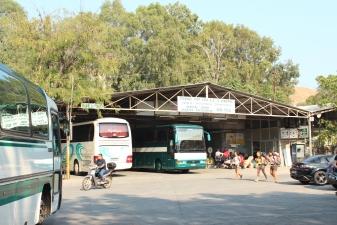 Автовокзал в Керкире