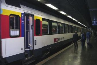 Поезд из аэропорта Женевы