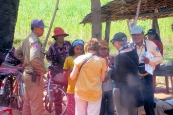 Туристы и полиция