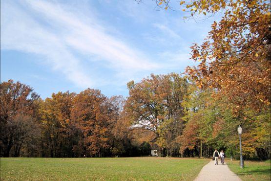 Осень в парке Максимир