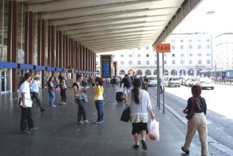 Вокзал в Риме