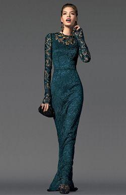 Вечернее платье от D&G